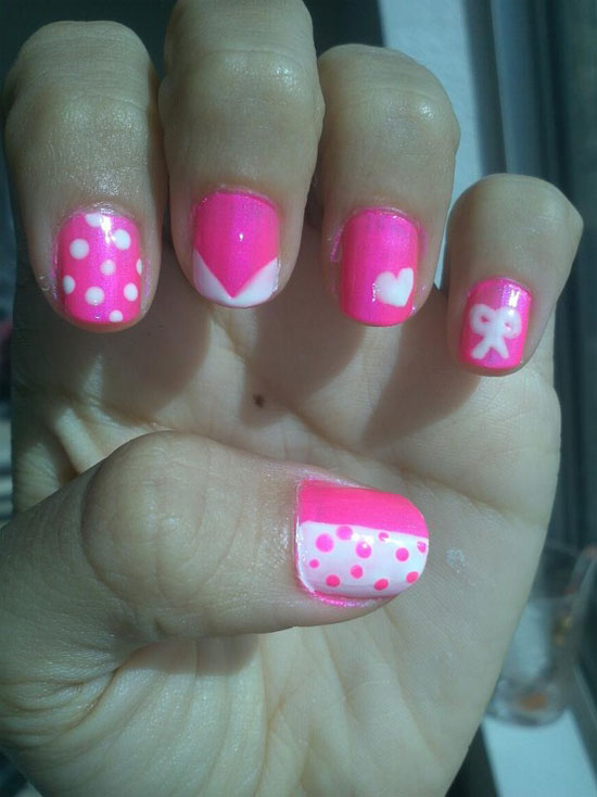 10 Best Simple Easy Valentines Day Nail Art
