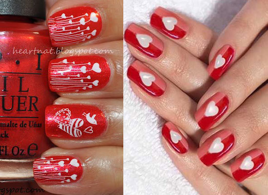 10-Best-Simple-Easy-Valentines-Day-Nail-Art- - Nail Art Designs For Valentines Day Graham Reid