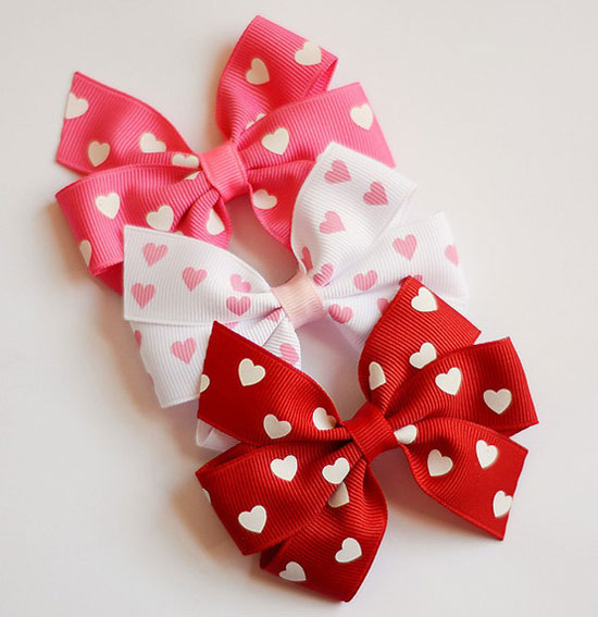 15 Best Valentines Day Hair Clips Bows For Girls Kids 2013 15 15 Best