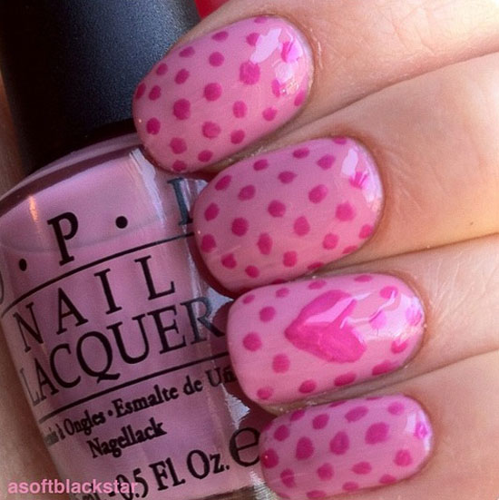 15 Best Valentines Day Nail Art Ideas Designs 2013 For Girls 5 15 Best Valentines Day Nail Art Ideas & Designs 2013 For Girls