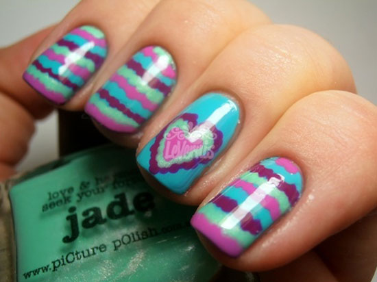 15 Best Valentines Day Nail Art Ideas Designs 2013 For Girls 6 15 Best Valentines Day Nail Art Ideas & Designs 2013 For Girls