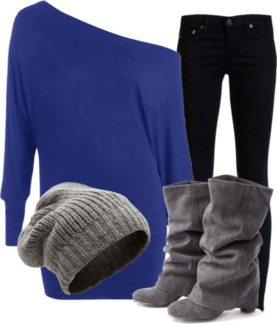 15-Casual-Winter-Fashion-Trends-Looks-2013-For-Girls-Women-11