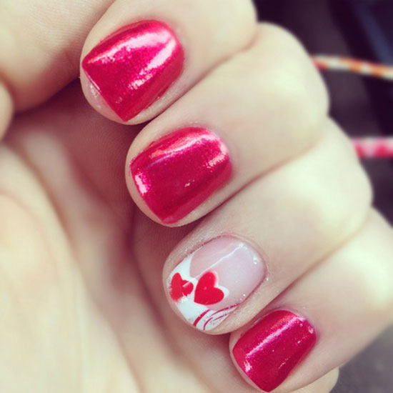 15 Inspiring Valentines Day Nail Art Designs Ideas 2013 For Girls 4 15 ...