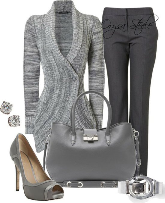 Winter Work Outfit Ideas for Women