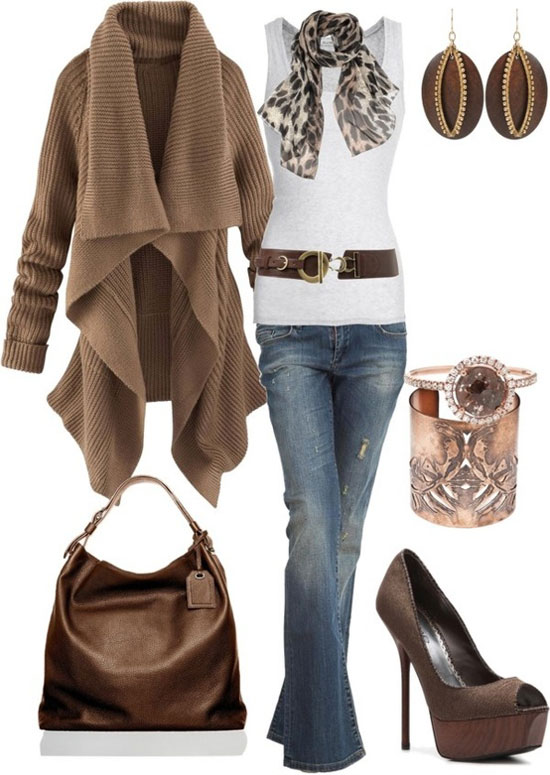 Latest Casual Winter Fashion Trends Ideas 2013 For Girls Women 4