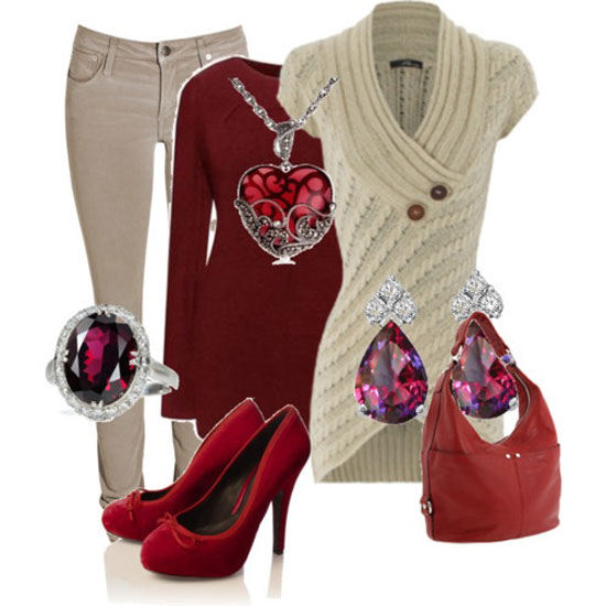 Latest Casual Winter Fashion Trends Ideas 2013 For Girls Women 6 Latest Casual Winter Fashion Trends & Ideas 2013 For Girls & Women