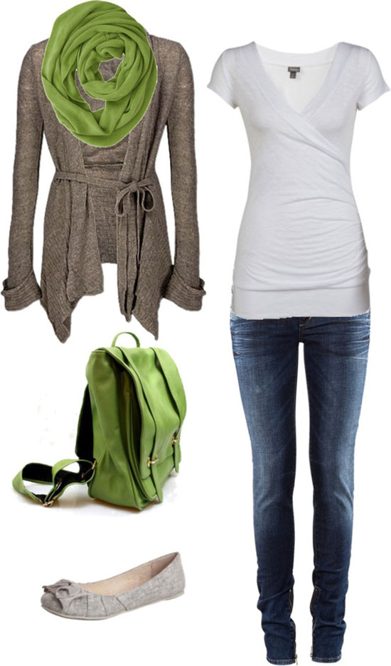 Latest Casual Winter Fashion Trends Ideas 2013 For Girls Women 8