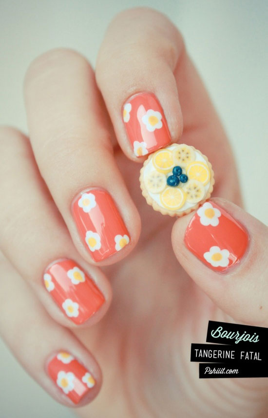 15 amazing spring nail art designs ideas 2013 for girls