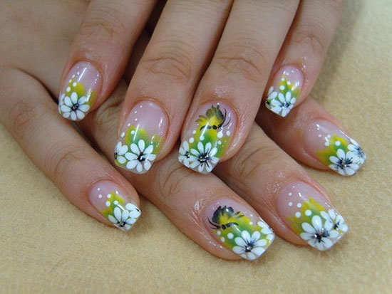 all fashion 4 us spring flower nail art