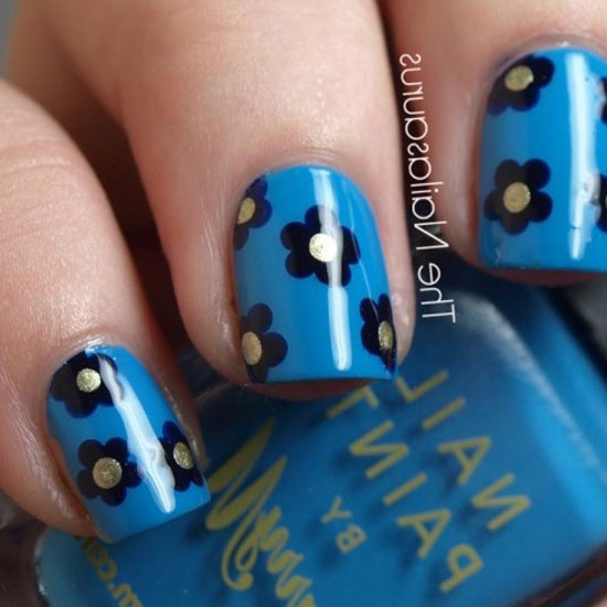 The Charming Cute and easy nail designs for girls Photo