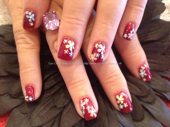 Girl nail 15 inspiring spring flower nail art designstrends 15 inspiring spring flower nail art designs trends prinsesfo Image collections