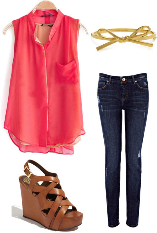 Spring outfit ideas for women