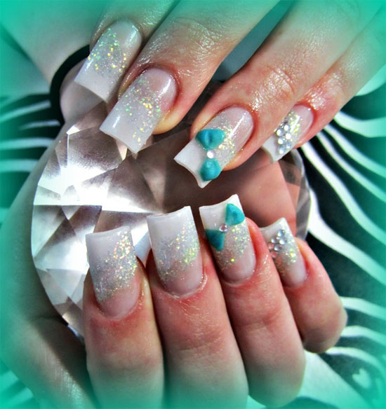 Best 3D Acrylic Nail Art Designs Ideas 2013 For Girls 15 15 + Best 3D