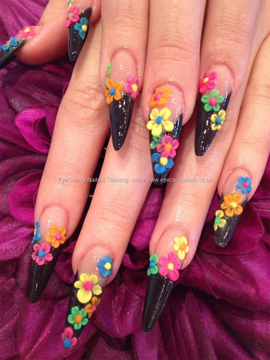 Girl nail 15 best 3d acrylic nail art designs ideas 2013 15 best 3d acrylic nail art designs ideas prinsesfo Images