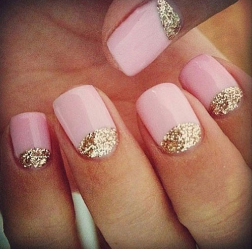 15 Best Short Acrylic Nail Art Designs & Ideas For Girls 2013