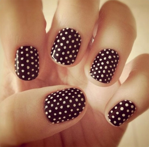 15 best short acrylic nail art designs amp ideas for girls 2013