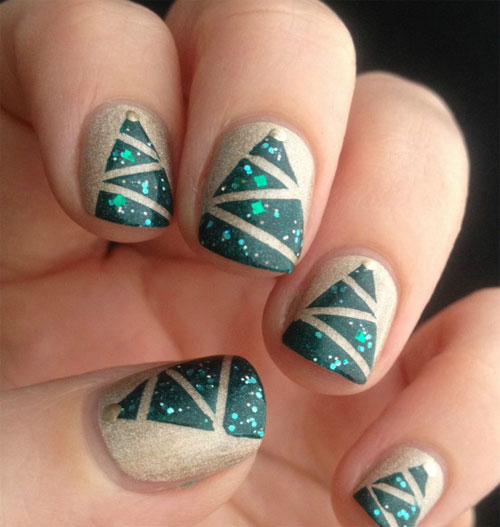 15 Best Short Acrylic Nail Art Designs Ideas For Girls 2013 4 15 Best Short Acrylic Nail Art Designs & Ideas For Girls 2013