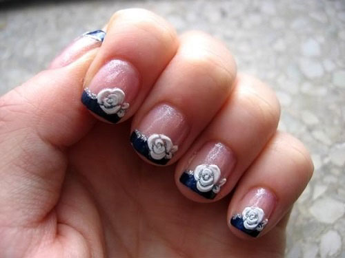 15 Best Short Acrylic Nail Art Designs Ideas For Girls 2013 8 15 Best Short Acrylic Nail Art Designs & Ideas For Girls 2013