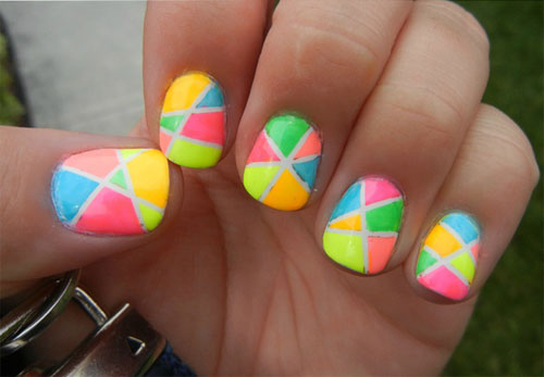 15 Best Short Acrylic Nail Art Designs Ideas For Girls 2013 9 15 Best Short Acrylic Nail Art Designs & Ideas For Girls 2013