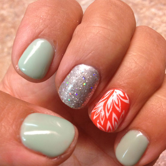 Summer Nail Designs Ideas For Girls 2013 13 15 Cool & Easy Summer Nail ...