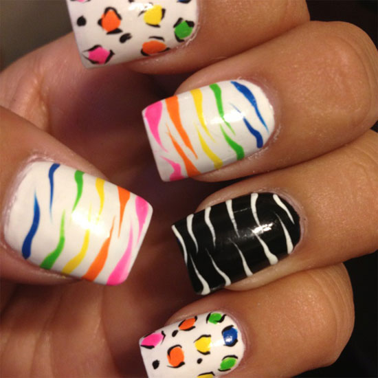 Summer Nail Designs Ideas For Girls 2013 4 15 Cool & Easy Summer Nail