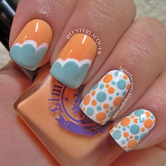 Summer Nail Designs Ideas For Girls 2013 5 15 Cool & Easy Summer Nail ...