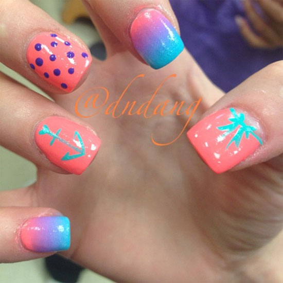 Cute nail designs for summer : Cute easy nail designs for summer images pictures becuo