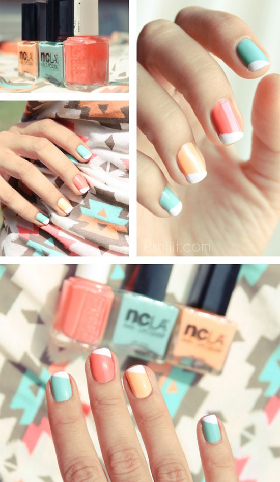 Easy Cool Summer Nail Designs additionally Summer Nail Designs 2013 in ...