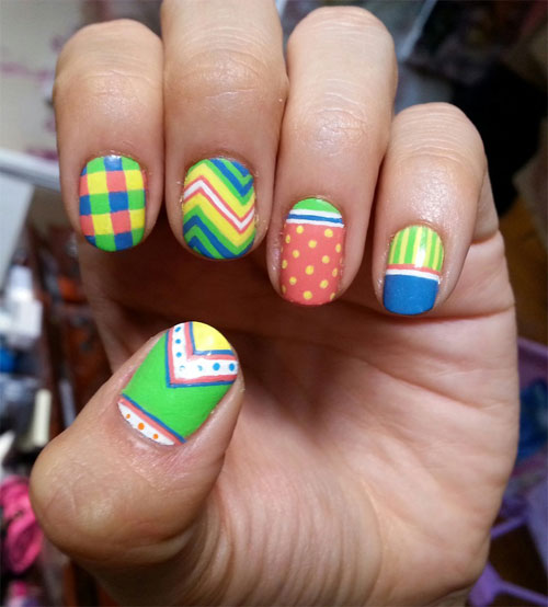 Easy Nail Art Designs Nail Designs 2014 Tumblr Step By Step For