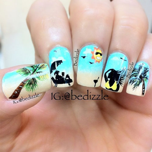 Summer Nail Art Designs Ideas For Girls 2013 2 Awesome Summer Nail Art ...
