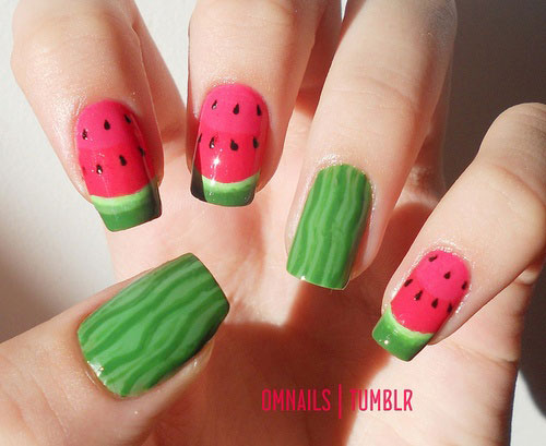 Summer Nail Art Designs Ideas For Girls 2013 3 Awesome Summer Nail Art