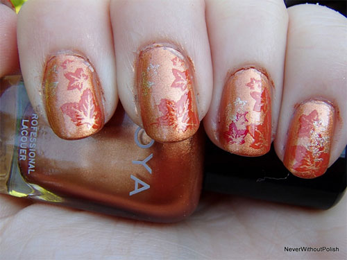 nail art designs autumn hession hairdressing