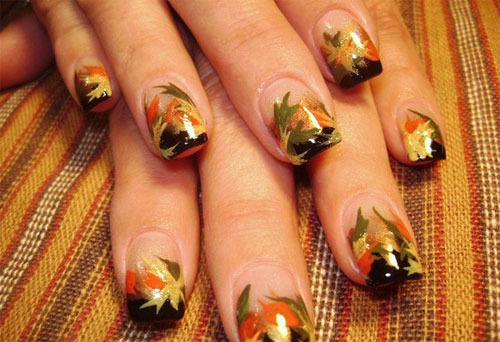 Fall Nail Art Designs, Trends & Ideas For Girls 2013/ 2014 | Girlshue