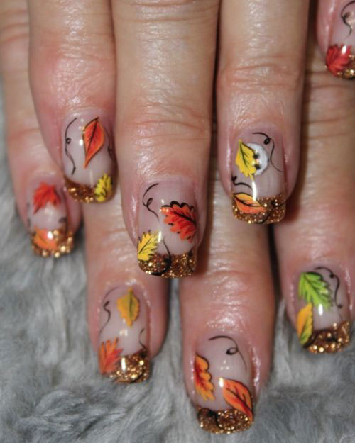Fall Nail Art: Latest Fall Nail Art Designs, Trends & Ideas For Girls