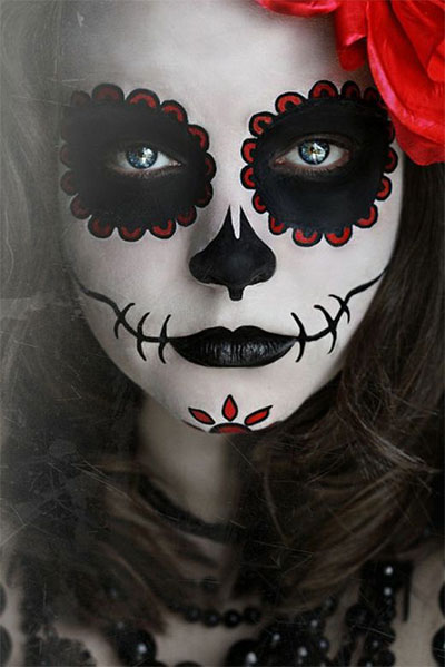 Amazing Yet Scary Halloween Make Up Ideas & looks For Girls 2013/ 2014 ...