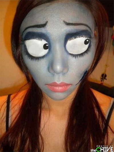 Amazing Yet Scary Halloween Make Up Ideas &amp looks For - Cool Halloween Makeup For Girls