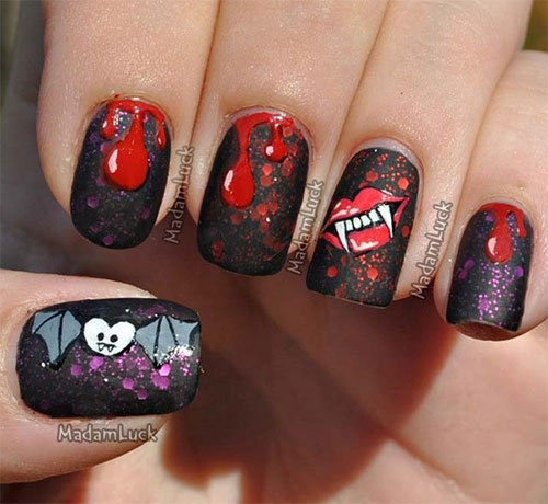 Best-Scary-Nail-Art-Designs-Ideas-Pictures-2013-2014-10