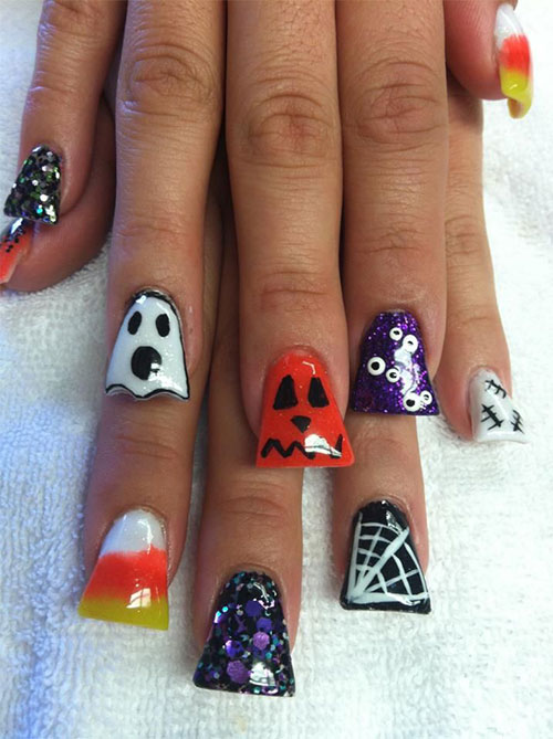 Best-Scary-Nail-Art-Designs-Ideas-Pictures-2013-2014-15