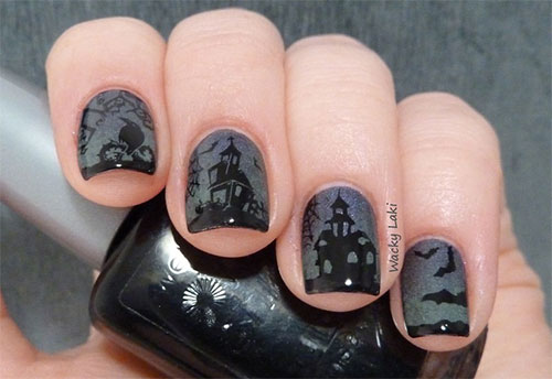 Best-Scary-Nail-Art-Designs-Ideas-Pictures-2013-2014-6