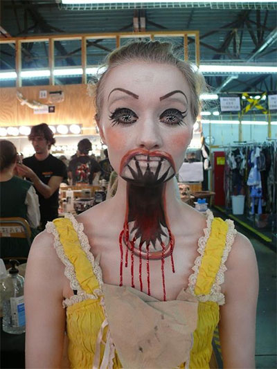 Halloween Costumes Ideas Decorations Wallpaper Pictures - Cool Halloween Makeup For Girls