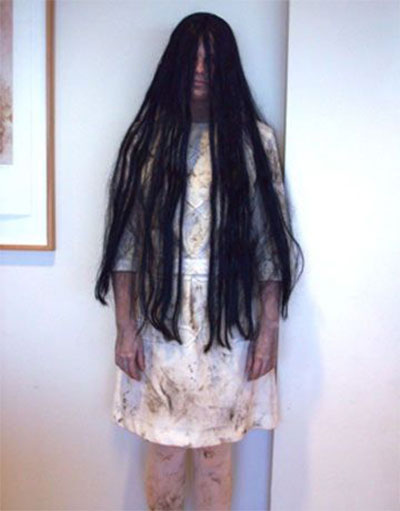 Diy halloween decorations ghosts - Creative Unique Scary Halloween Costume Ideas For Girls Women 2013
