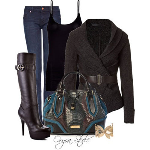 Latest Autumn Fall Fashion Trends For Girls 2013 2014 4 Latest Autumn & Fall Fashion Trends For Girls 2013/ 2014