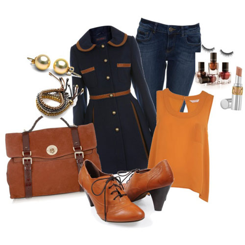 Latest Autumn Fall Fashion Trends For Girls 2013 2014 6 Latest Autumn & Fall Fashion Trends For Girls 2013/ 2014