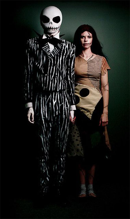 Unique-Scary-Halloween-Costume-Ideas-For-Couples-2013-2014-2