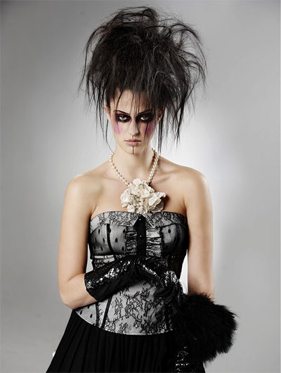 Crazy Yet Scary Halloween Hair Ideas For Girls & Women 2013/ 2014 ...