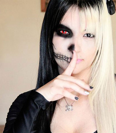 Crazy Yet Scary Halloween Hair Ideas For Girls & Women ...