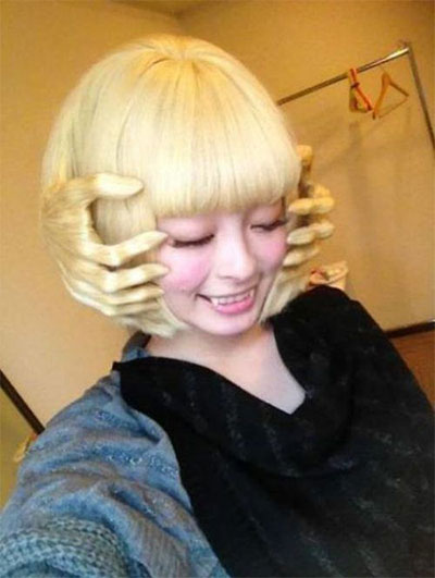 vintage prom hairstyles : Unique Yet Scary Hairstyles For Halloween For Girls & Women 2013/ 2014 ...