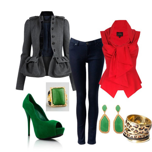 Casual Christmas Party Outfits 2013 2014 Polyvore Xmas Costumes Ideas ...