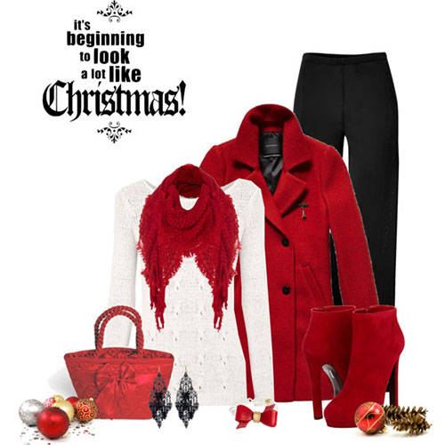 Casual Christmas Party Outfits 2013 2014 Polyvore Xmas Costumes Ideas 6 Casual Christmas Party Outfits 2013/ 2014 | Polyvore Xmas Costumes Ideas