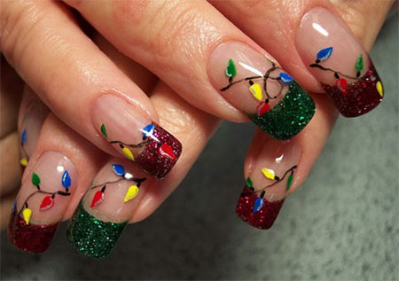 Christmas Light Nail Art Designs Ideas 2013 2014 X mas Nails 12 Christmas Light Nail Art Designs & Ideas 2013/ 2014 | X mas Nails